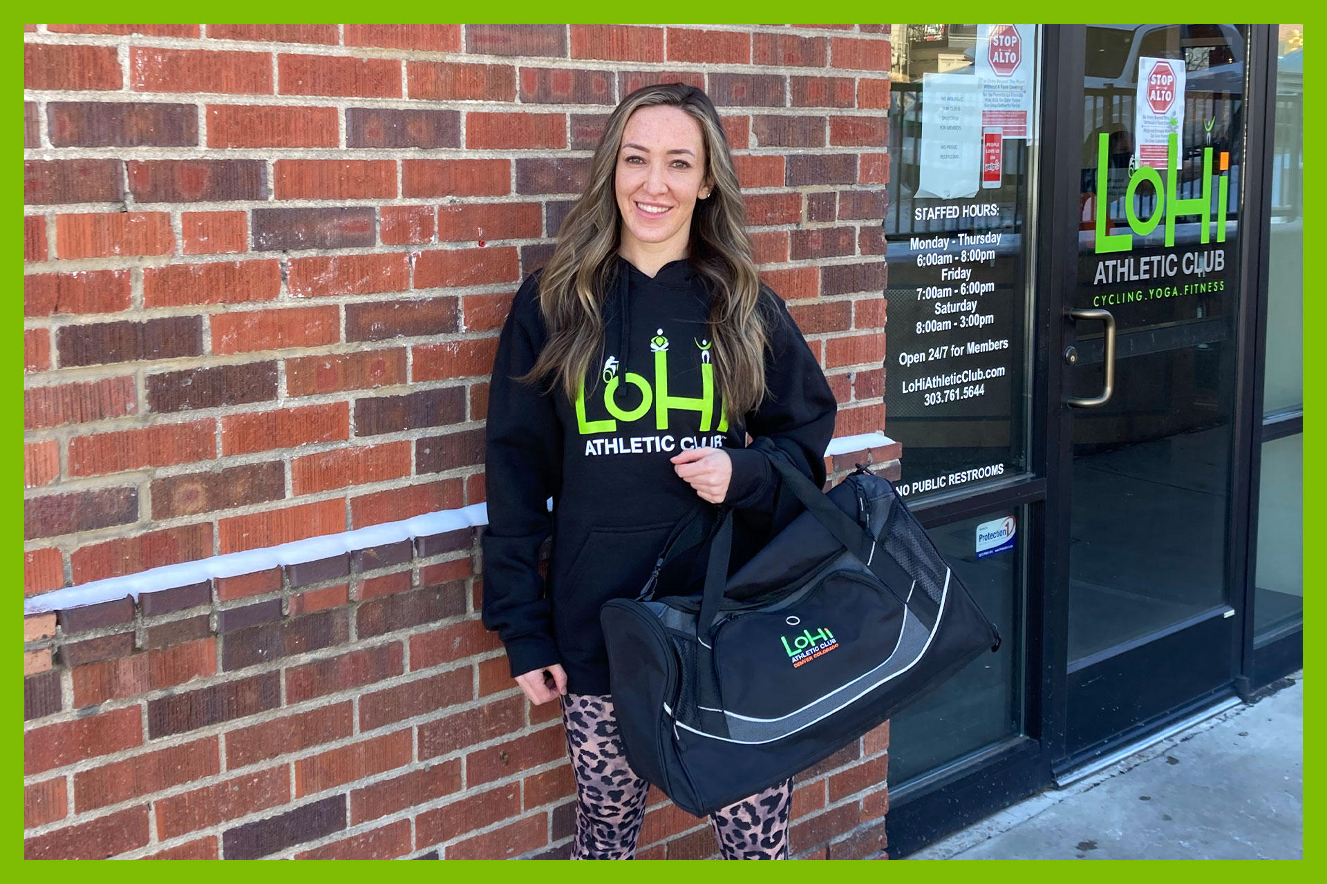 50% off Enrollment fees, first month FREE, and choose from a FREE hoodie or gym bag while supplies last at Lohi Athletic Club in Denver, Colorado.