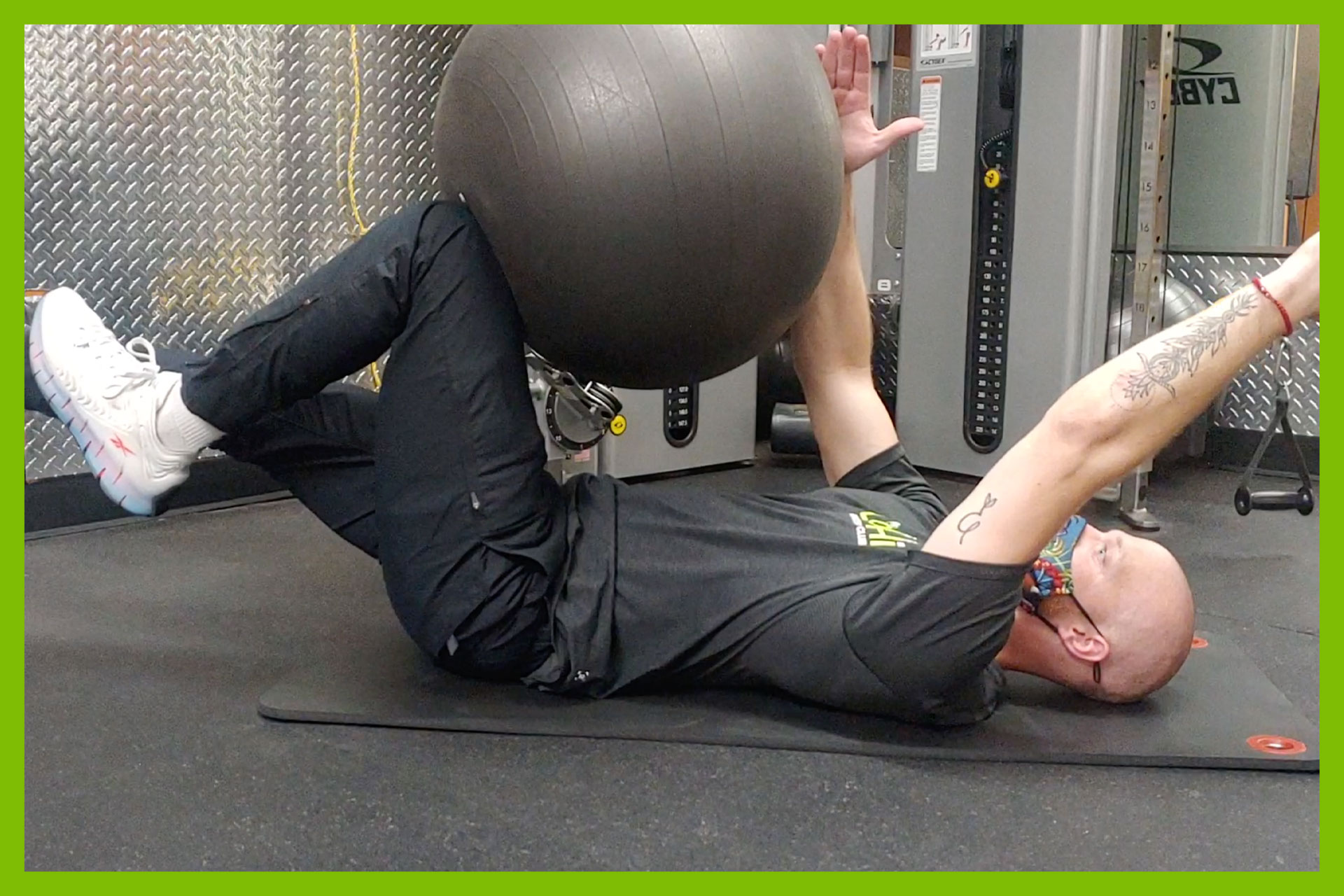 Our Trainer, Garrett Zeigler of LoHi Athletic Club in Denver, Colorado, shares his top 3 ball exercises to achieve a better core.