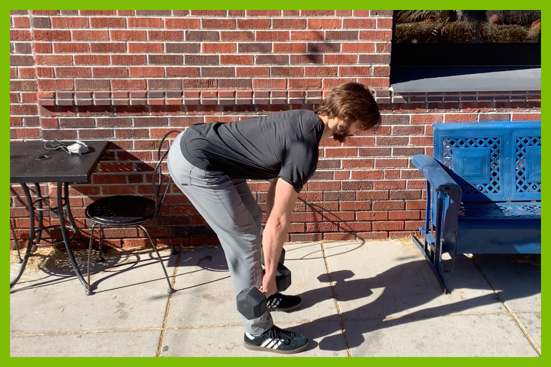 Our Trainer, Will Goodwin of LoHi Athletic Club in Denver, Colorado, gives you advice about stretching.